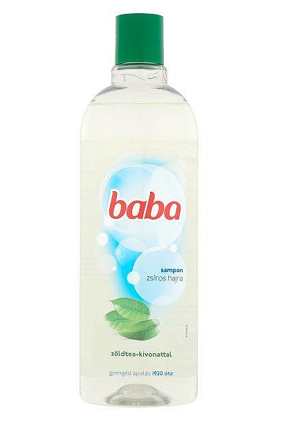 Baba sampon 400ml Zöld tea